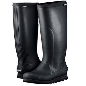 NEW Sorel 'Joan' Tall Black Rain ☔️ Boots